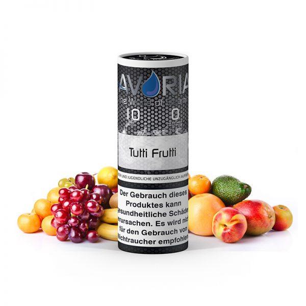 avoria liquid tutti frutti