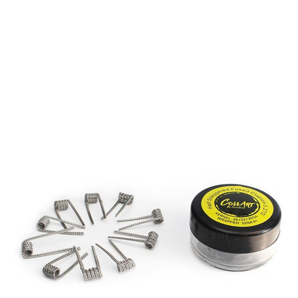 coilart p21 half staggered fused clapton 1