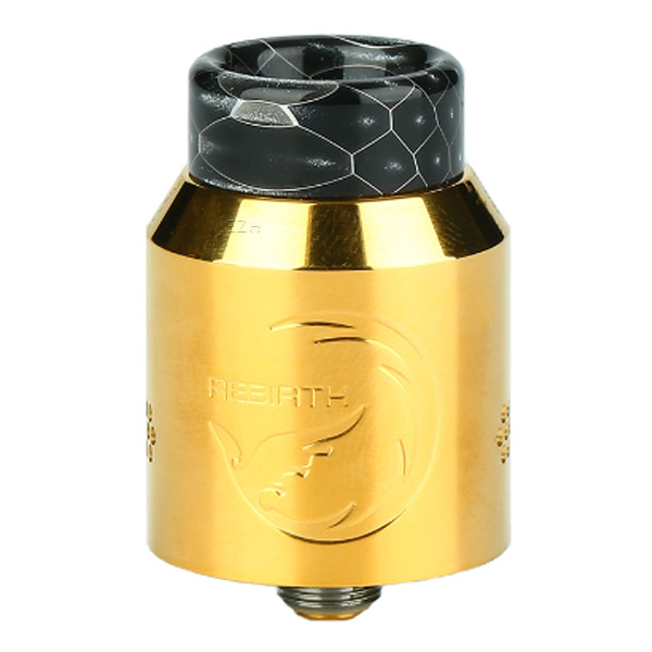 hellvape rebirth rda tank gold