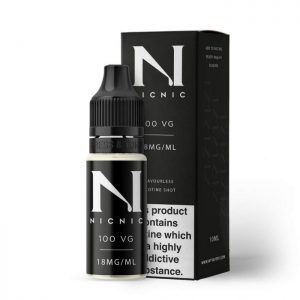 nicnic 100vg 18mg boxandbottle
